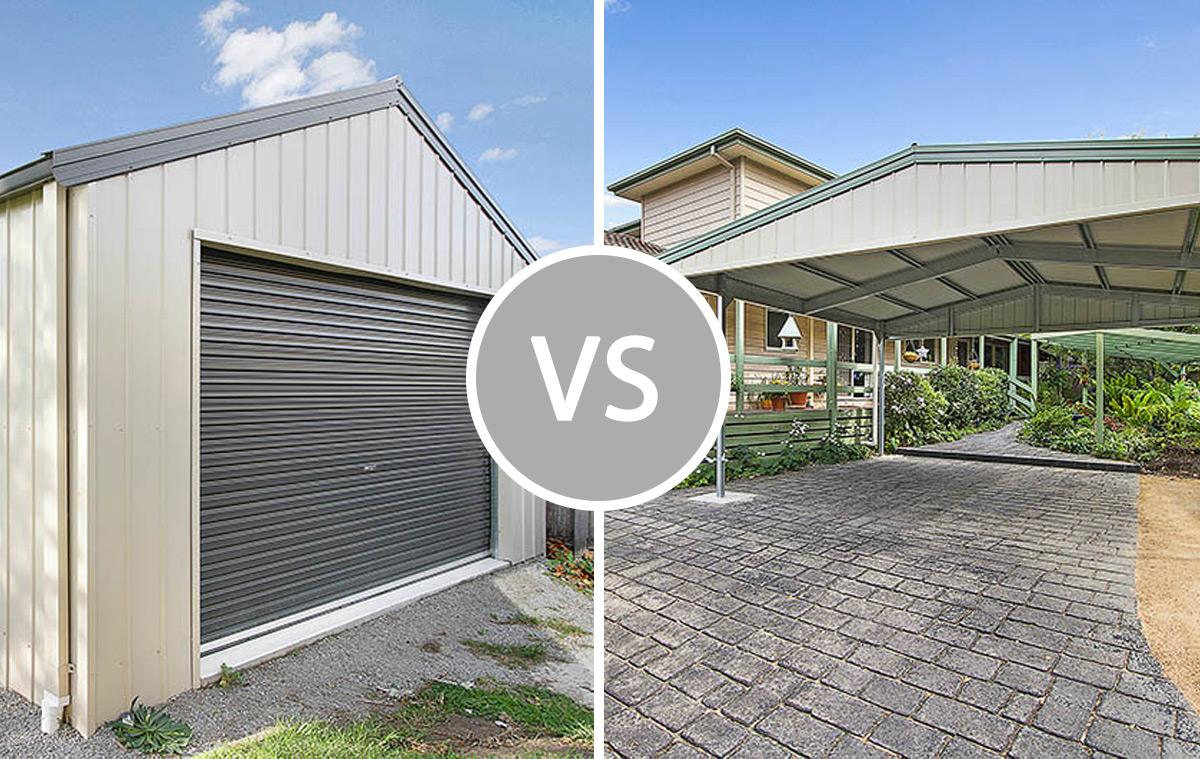 What to choose – a carport or a garage?